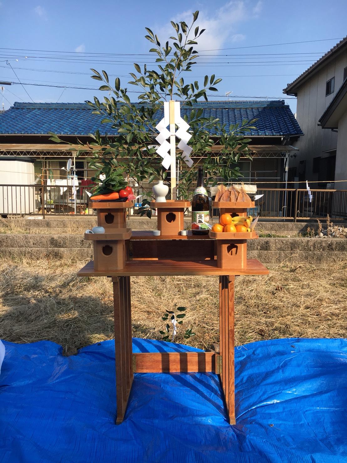 犬山市 新築 「地鎮祭」